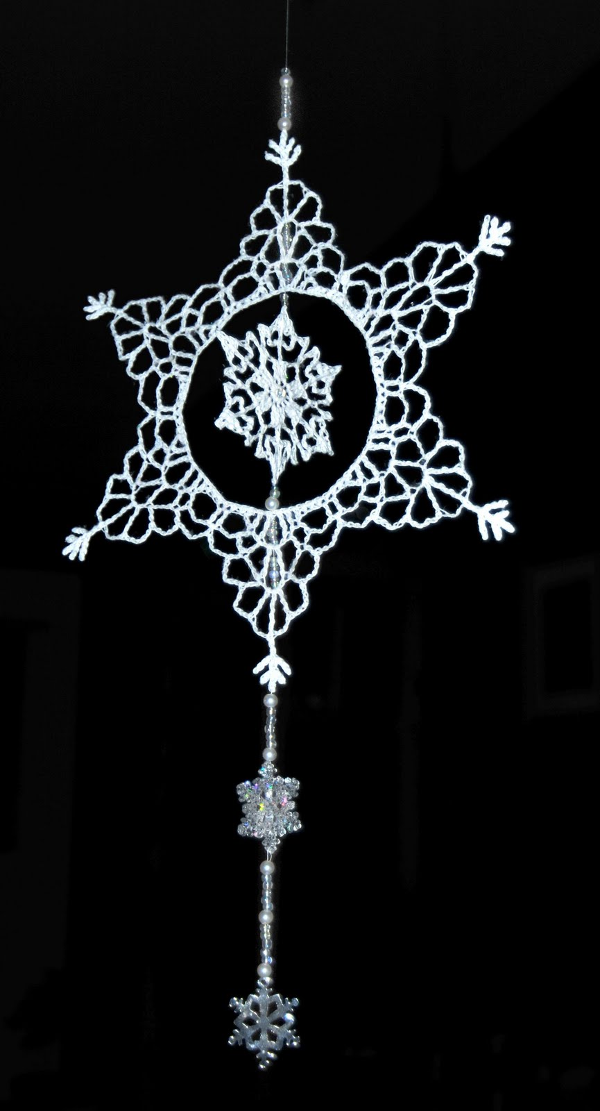 Snowflake Ornament | Free Vintage Crochet Patterns