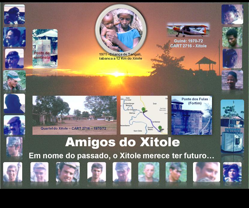 AMIGOS DO XITOLE: em nome do passado o Xitole merece ter futuro...