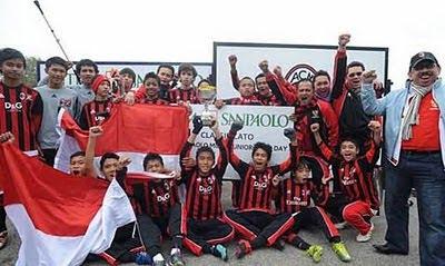 Indonesia juara milan junior camp day