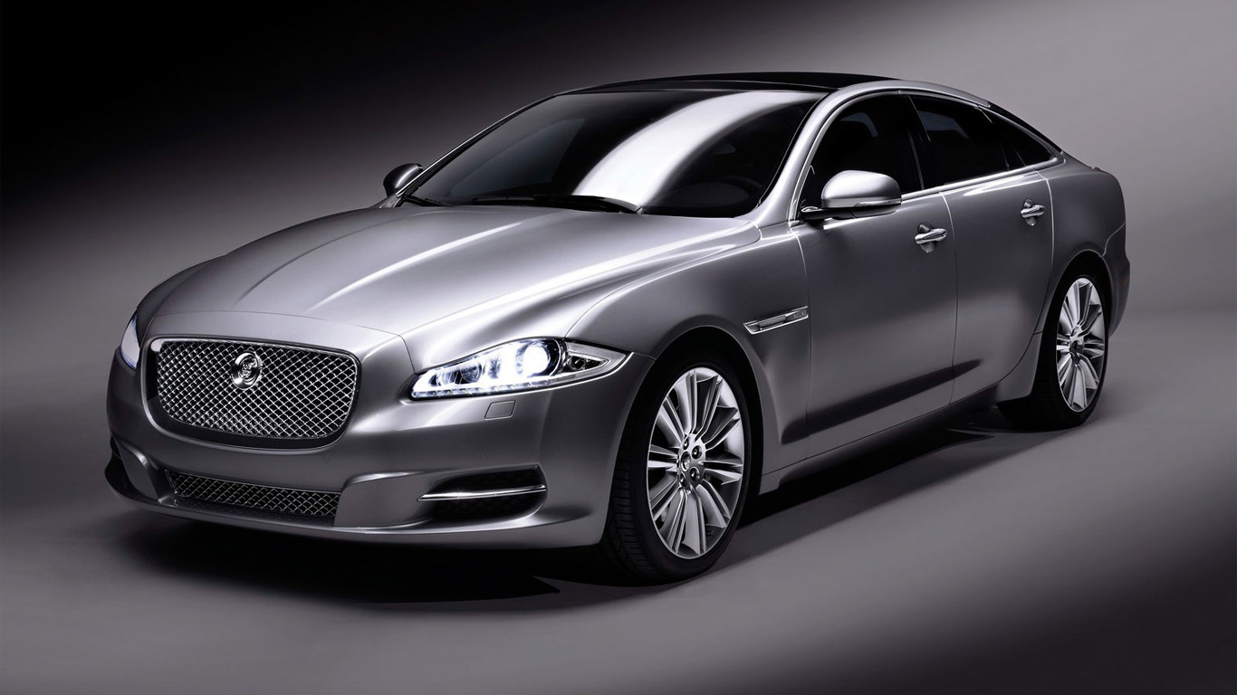 Most Expensive Car: Most Expensive Car : Jaguar XJ 2010 Silver Studio