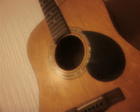 my broken guitar