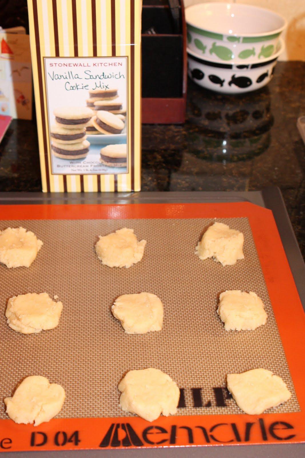 Grapesugar Stonewall Kitchen 39 S Vanilla Sandwich Cookies