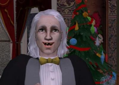Visiting Scrooge
