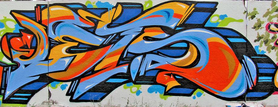 Graffiti Schrift: 10-07-10