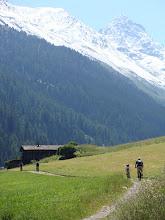 Biking in Davos