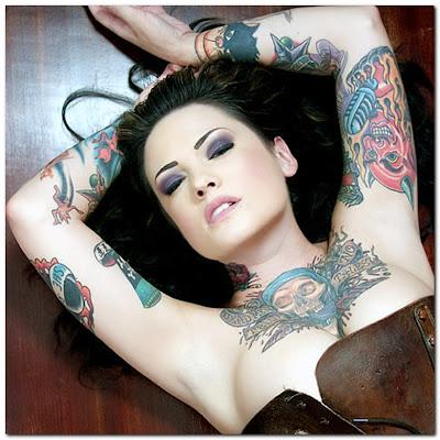 Most Popular:Gothic Tattoos Design For Women