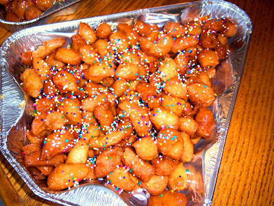 Wondrous What39S Cookin39 Italian Style Cuisine Struffoli An Italian Easy Diy Christmas Decorations Tissureus