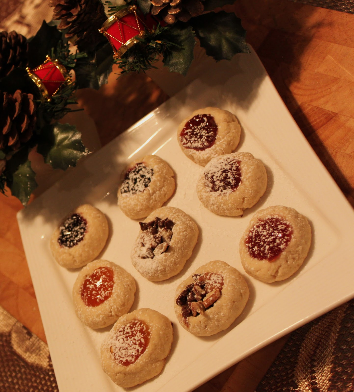 ... Style Cuisine: Pecan Turtle Thumbprint or Jam Thumbprint Cookies