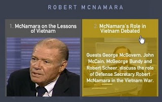 lessons from rs mcnamara Eleven lessons from the life of robert s mcnamara, sony pictures classics,  2003  the air force has made claims for the performance of the rs-70.