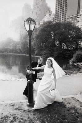 wedding, photography, bride,groom,bouquet,Vera Wang,central park, Olivier Lalin, Paris