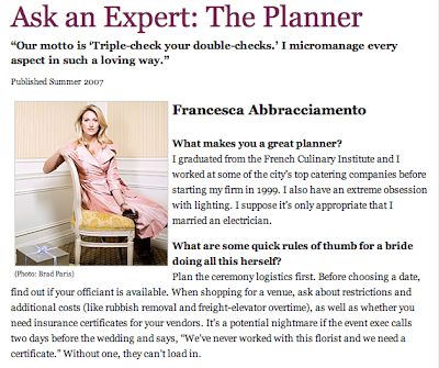 Wedding Planner Tips on You Guys Read More About My Favorite New York City Wedding Planners