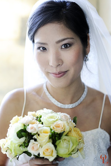 Simple French Wedding Bouquet  Elegan