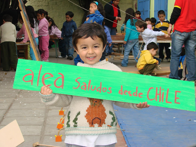 Un grandioso saludo desde Chile