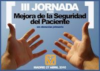 Logotipo de la Tercera Jornada de Mejora de la Seguridad del Paciente en Atención Primaria. Madrid 2010