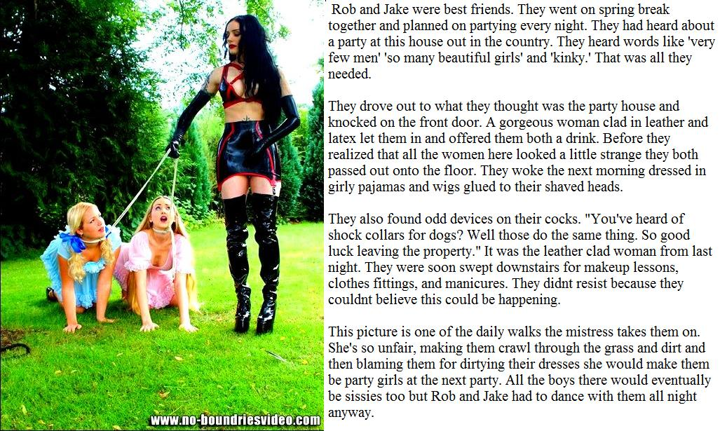 Forced Feminization Captions Blog http://jasm05-myowntgcaptions.blogspot.com/