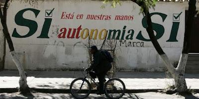 Autonomías en Bolivia