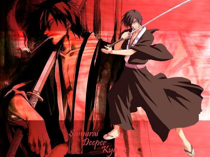 samurai deeper kyo wallpaper. samurai deeper kyo wallpaper.