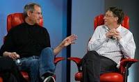 Foto TERNYATA Bill Gates Jadi Bandit Dan Gambar Steve Jobs PEMAIN SEPAKBOLA Di Inggris