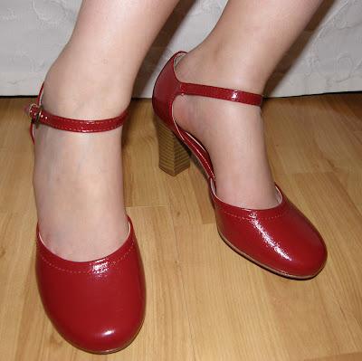 billige røde sko