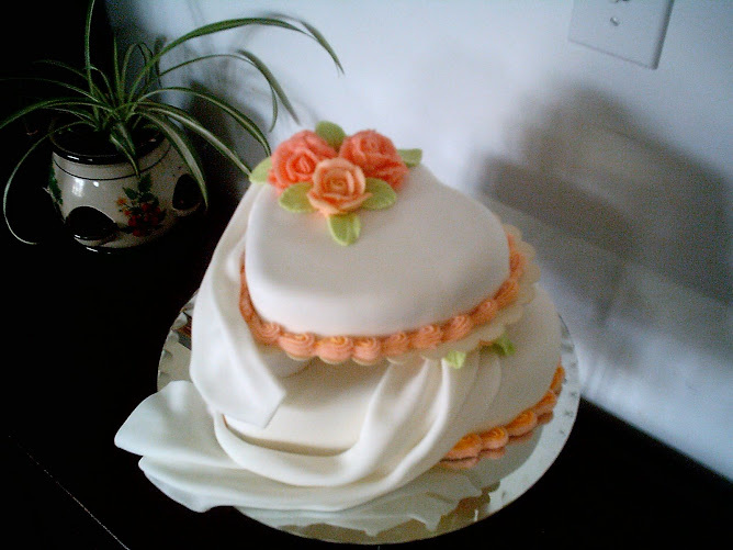 quick wedding cake