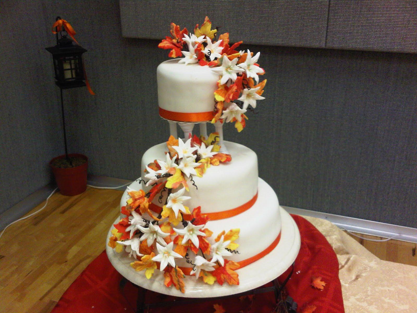 Susie s Cake Stop Autumn Leaves