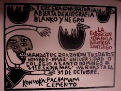 Afiches convocatoria 2010
