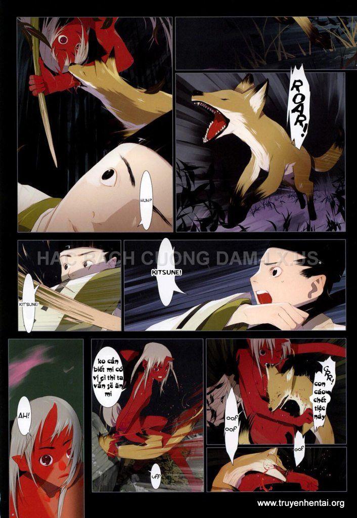 hanafuda www.hentairules.net 098 Truyện hentai online2h.com Hồ Ly Tinh (Liêu Trai của Nhật)   Full Colour   Chap 5(end)