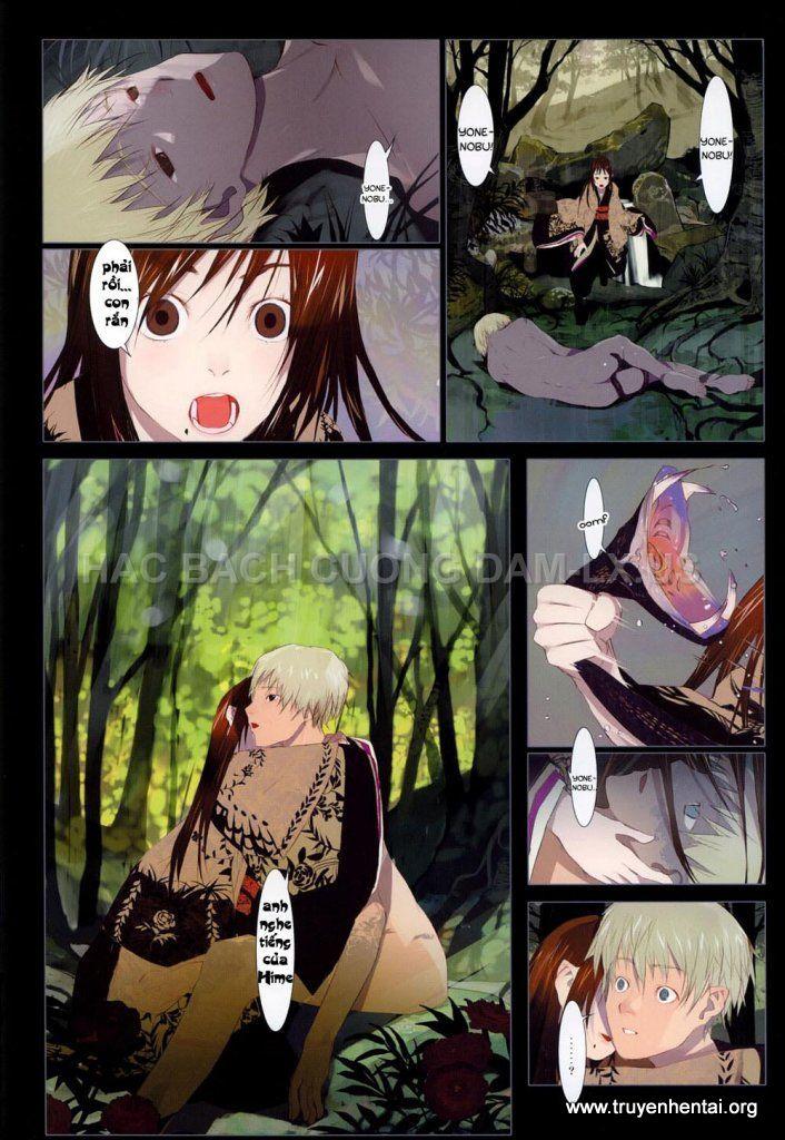 hanafuda www.hentairules.net 100 Truyện hentai online2h.com Hồ Ly Tinh (Liêu Trai của Nhật)   Full Colour   Chap 5(end)