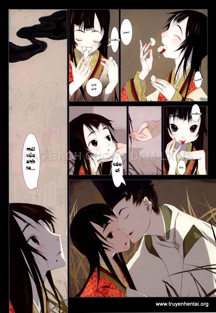 hanafuda www.hentairules.net 010 Truyện hentai truyenhentai2h.com Hồ Ly Tinh (Liêu Trai của Nhật)   Full Colour   Chap 1