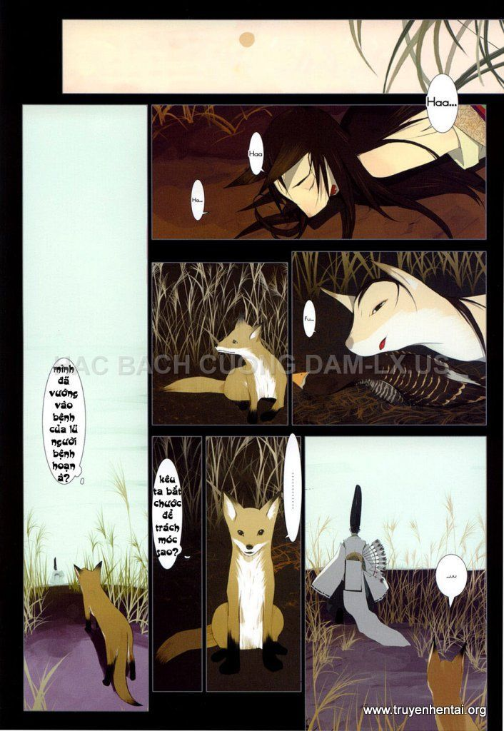hanafuda www.hentairules.net 014 Truyện hentai truyenhentai2h.com Hồ Ly Tinh (Liêu Trai của Nhật)   Full Colour   Chap 1
