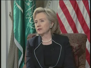 HRC Secretary of State interview Saudi Arabia Bloomberg video