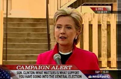 HRC Shepherdstown West Virginia news conference