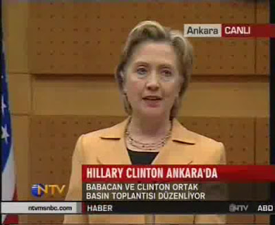 HRC Secretary of State news conference Ankara Turkey