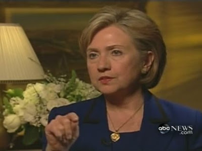 HRC Secretary of State interview Jerusalem ABC