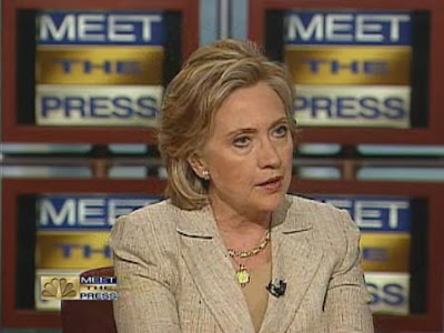 Secretary of State Hillary Clinton NBC Meet The Press interview July 2009