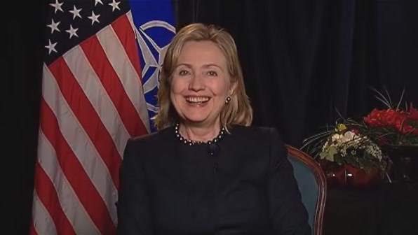 HRC Secretary of State interview Lisbon Portugal NATO NBC Meet the Press
