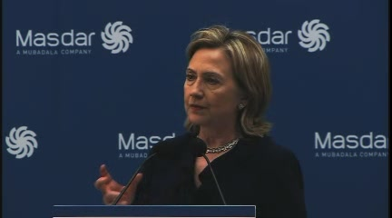 HRC SoS Masdar UAE speech