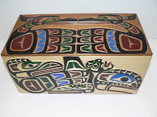 Caixas / Box Native American Art