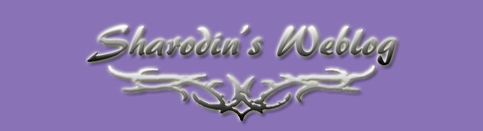 Sharodin's Weblog
