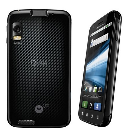 Motorola Atrix 4G AT&T Manual User Guide Quick Start Guide Accessories Guide