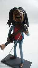 Bob marley en porcelana fria