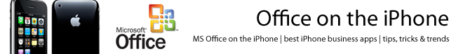 Office on the iPhone: Microsoft Office on the iPhone | iPhone tips, tricks and trends
