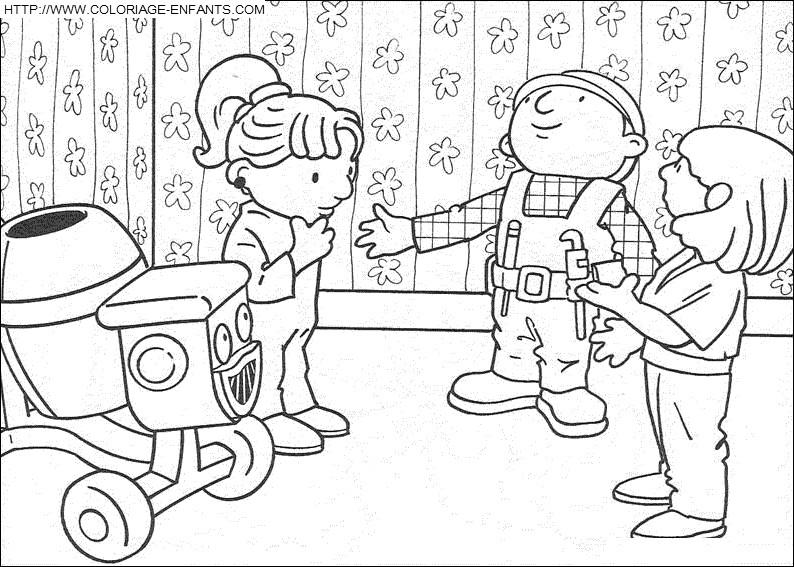 ... - Dibujos para colorear: Dibujos para colorear - Bob el constructor