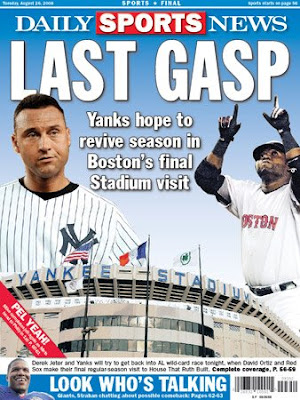 Yankees vs. Red Sox - Must-Win for New York