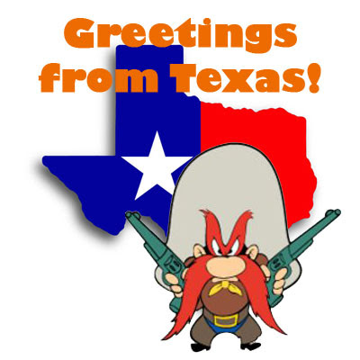 Greetings from Texas!