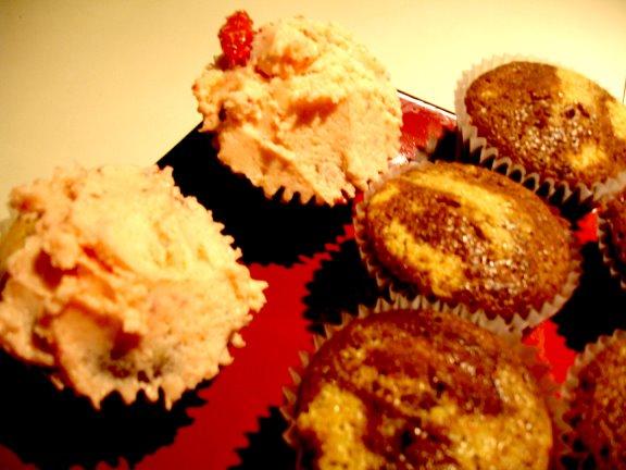 cupcakes cream icing