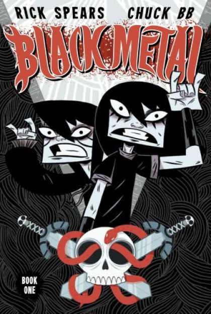 black metal comic book cover