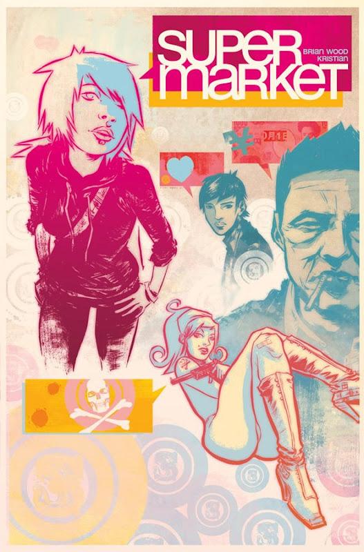 super market comic book cover