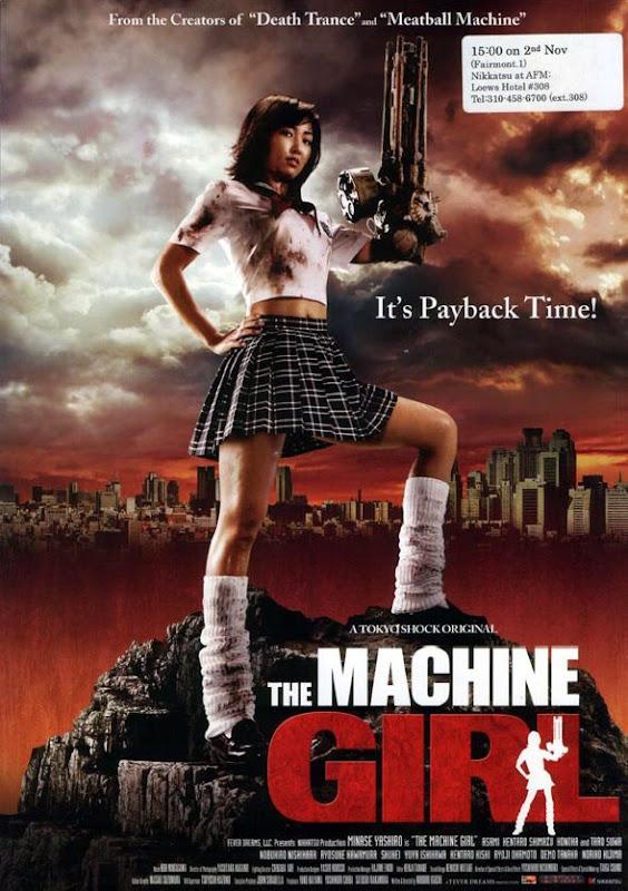 machine girl poster