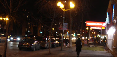 montreal at night, ndg, notre dame de grace